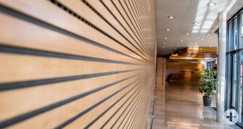 ÜBergang Foyer Jurasaal zum Foyer Kronensaal in der Stadthalle Eislingen