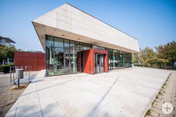 Eingang zum Jurasaal der Stadthalle Eislingen