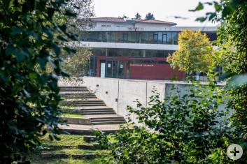 Außenbereich Filsterrassen der Stadthalle Eislingen